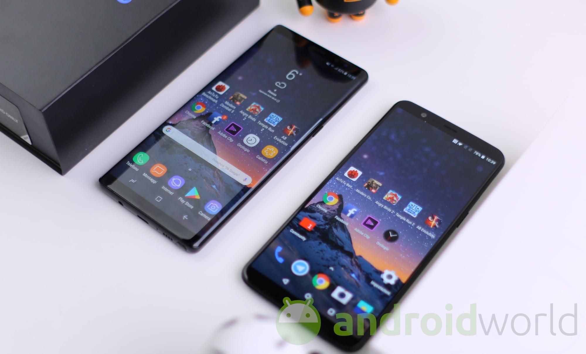 Samsung Galaxy Note 8 – OnePlus 5T – 3