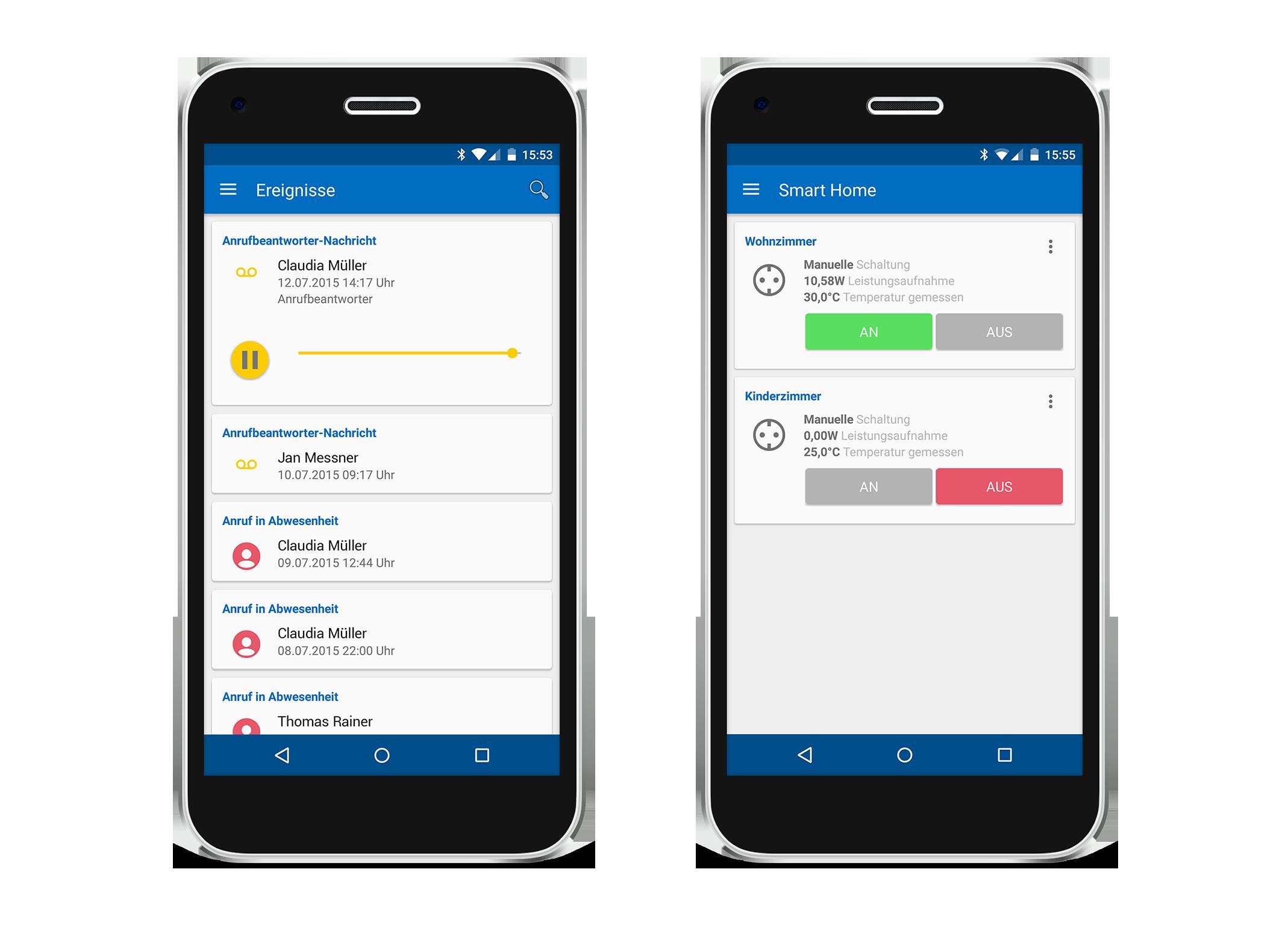Disponibile myfritz app 2 l 39 app rinnovata per interagire for App per progettare casa android