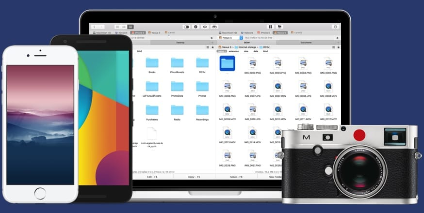 Commander One è uno strumento perfetto per trasferire file tra Mac e Android, ma a che prezzo! (foto)