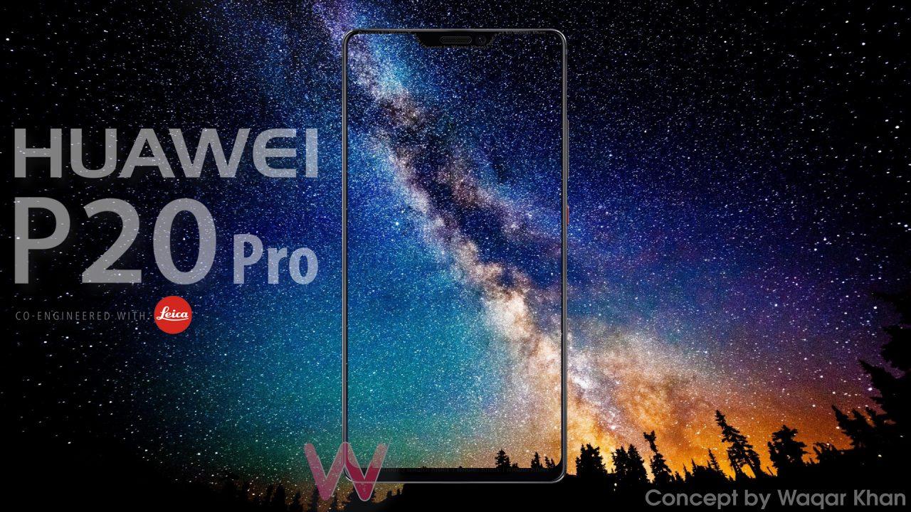 Huawei P20 Pro potrebbe avere una modalità software per nascondere il notch