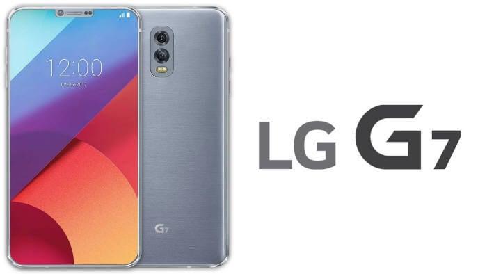 LG G7 con Snapdragon 845, 6 GB di RAM, 4 fotocamere, display OLED, impermeabile, scanner dell'iride e...