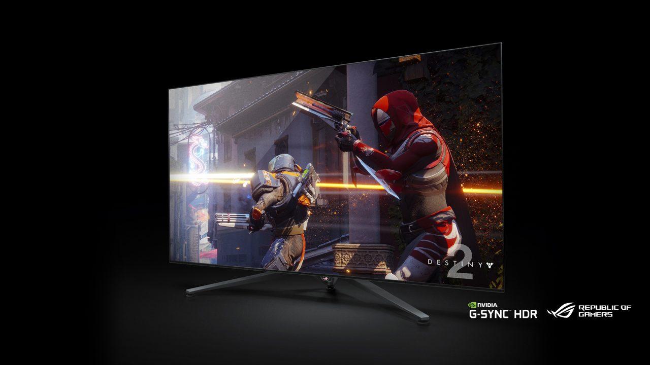 NVIDIA porta al CES 2018 un enorme monitor 4K da gaming con Shield TV e Assistant integrati (foto e video)
