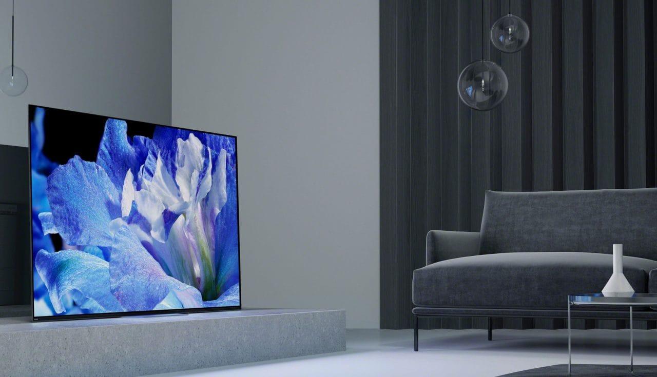 Il nuovo Android TV OLED 4K di Sony riproduce l'audio 3.1 direttamente dallo schermo (foto e video)