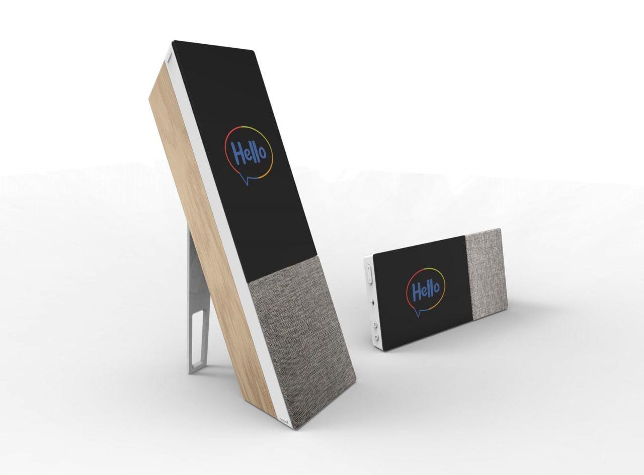 ARCHOS al MWC 2018: nuovo smart speaker con display e portafoglio virtuale per criptovalute (foto)