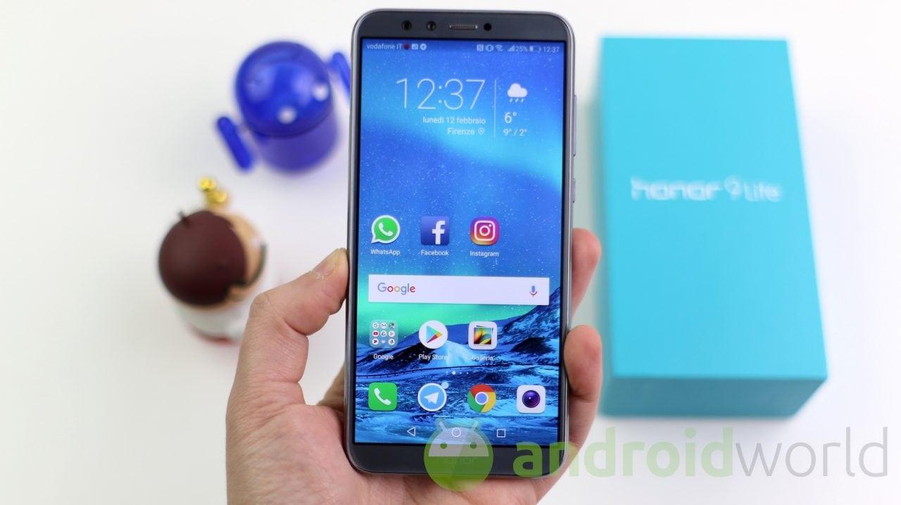 Honor 9 Lite assapora finalmente Android Pie: arriva l'aggiornamento