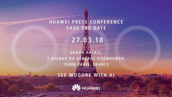 """Huawei P20 avrà tre fotocamere posteriori: la """"conferma"""" ufficiale"""