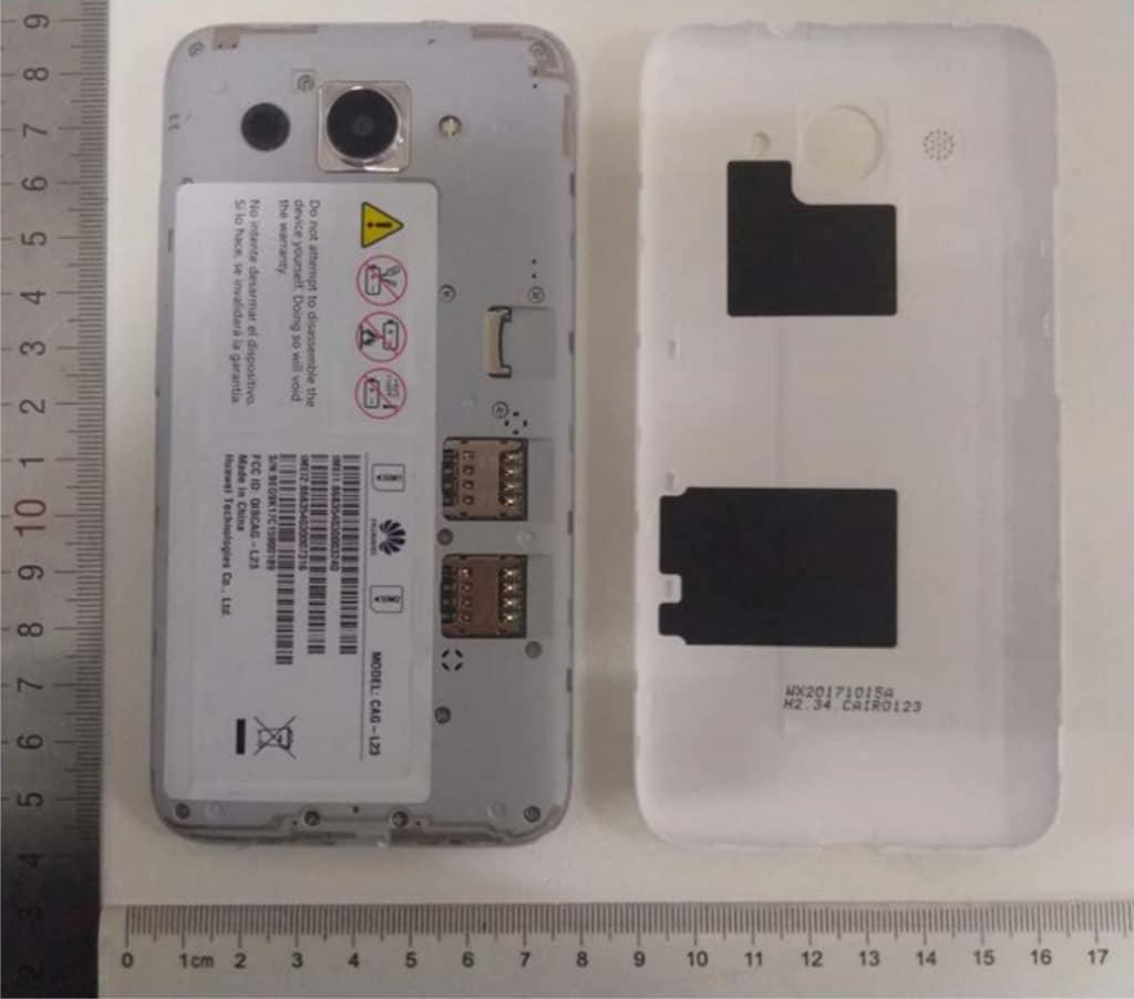Y5 Lite (2018) sarà il primo Huawei con Android Go (foto)