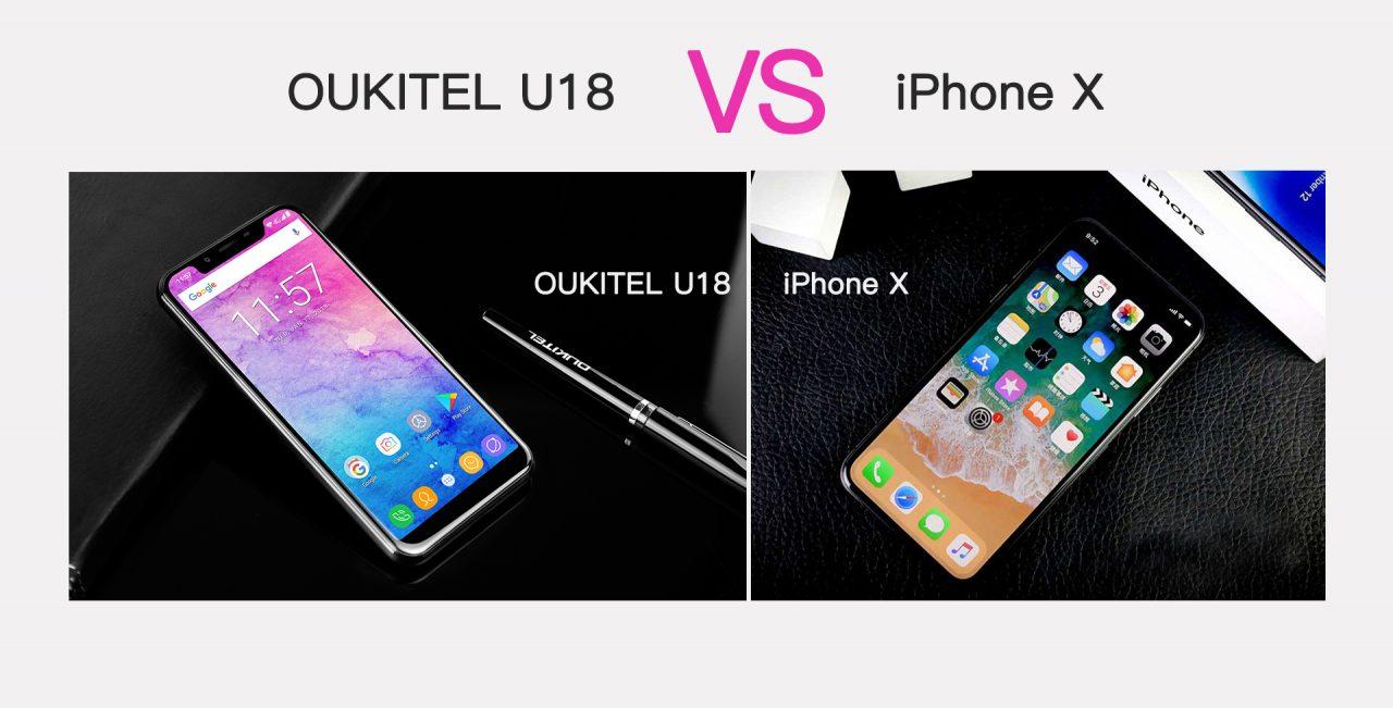 Oukitel U18 si crede meglio del suo ispiratore iPhone X, ma le prestazioni? (foto)