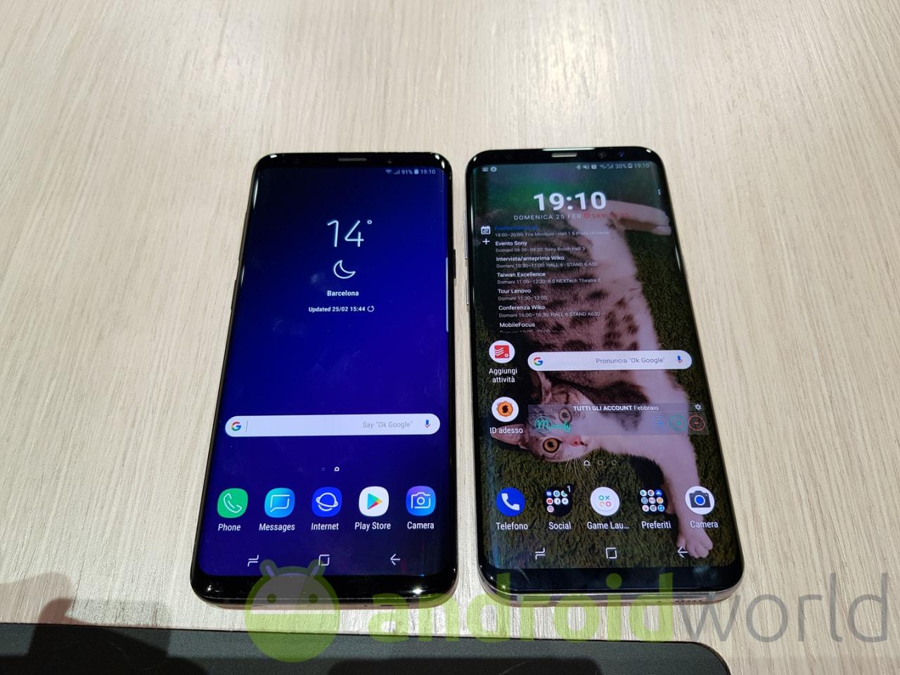 Su quale smartphone troviamo il miglior display di sempre? Ovvio, su Galaxy S9 (foto)