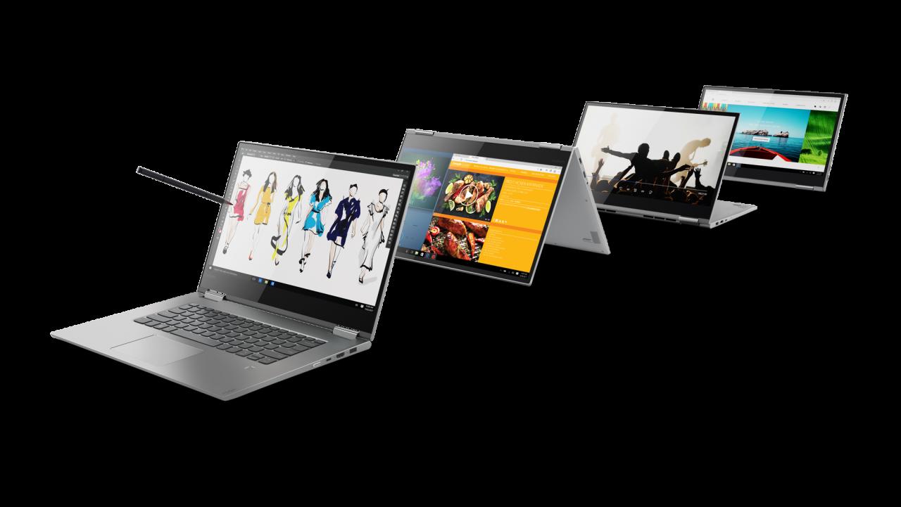 Lenovo Yoga 730 e 530 e Chromebook 100e, 300e e 500e ufficiali al MWC 2018 (aggiornato: hands-on, anche di MIIX 630 con Snapdragon 835)