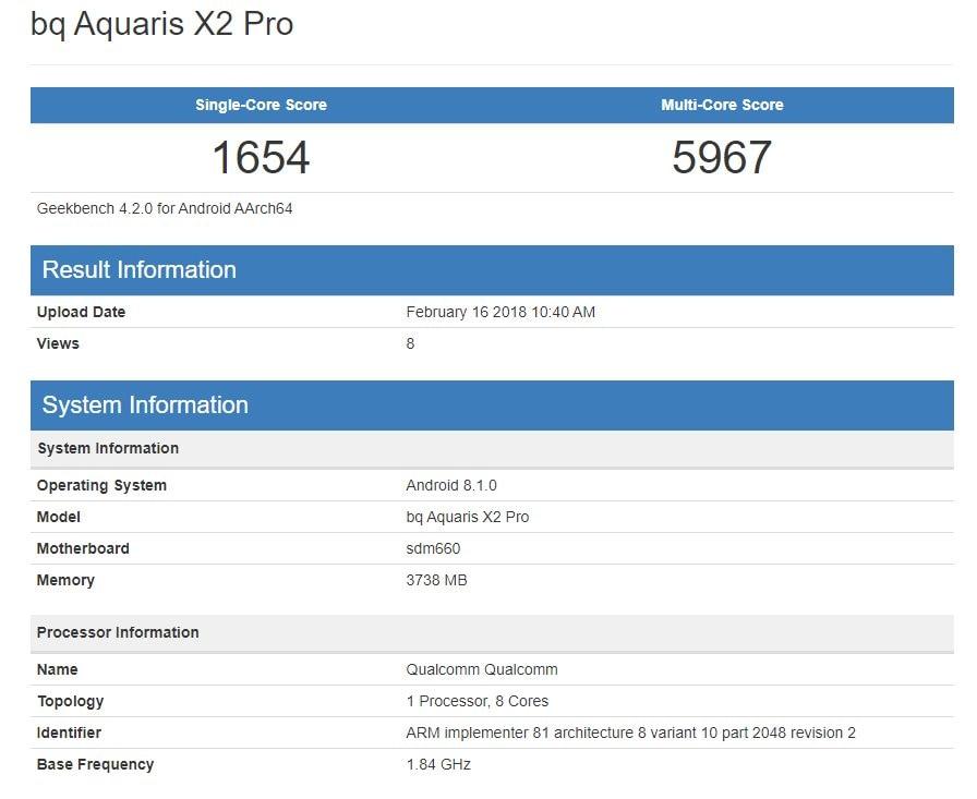 bq Aquaris X2 Pro – Geekbench Browser-000479
