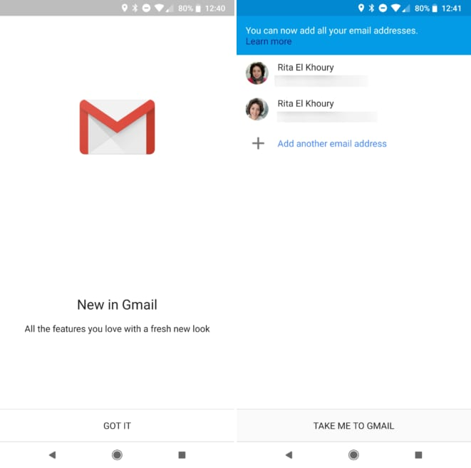 gmail go 1