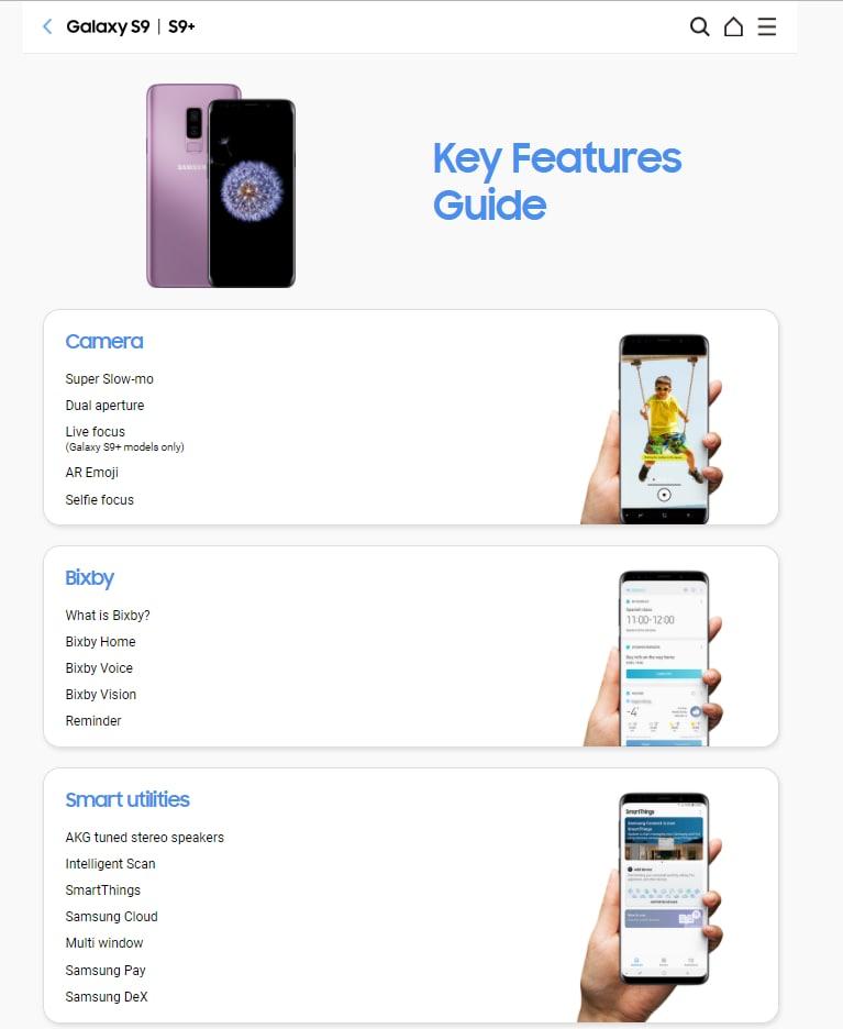 Galaxy S9 user manual 2