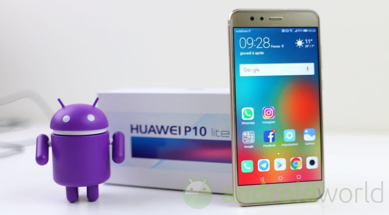 Hauwei P10 Lite (brand Vodafone) inizia finalmente a ricevere Android Oreo in Italia! (foto)
