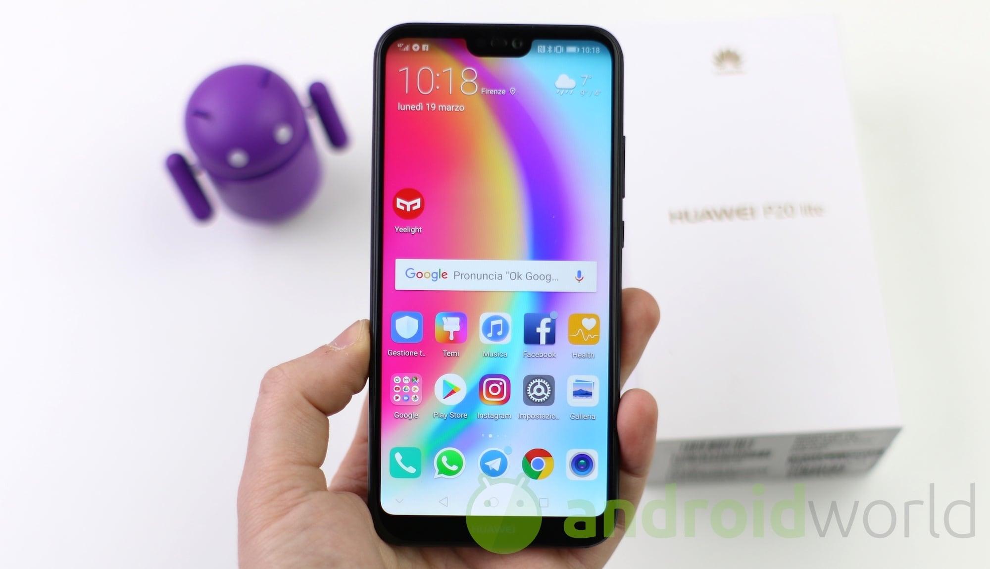 Recensione Huawei P20 Lite Dalla Fotocamera Al Display