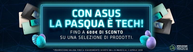 ASUS vi riserva tanti sconti per smartphone e PC nell'uovo di Pasqua
