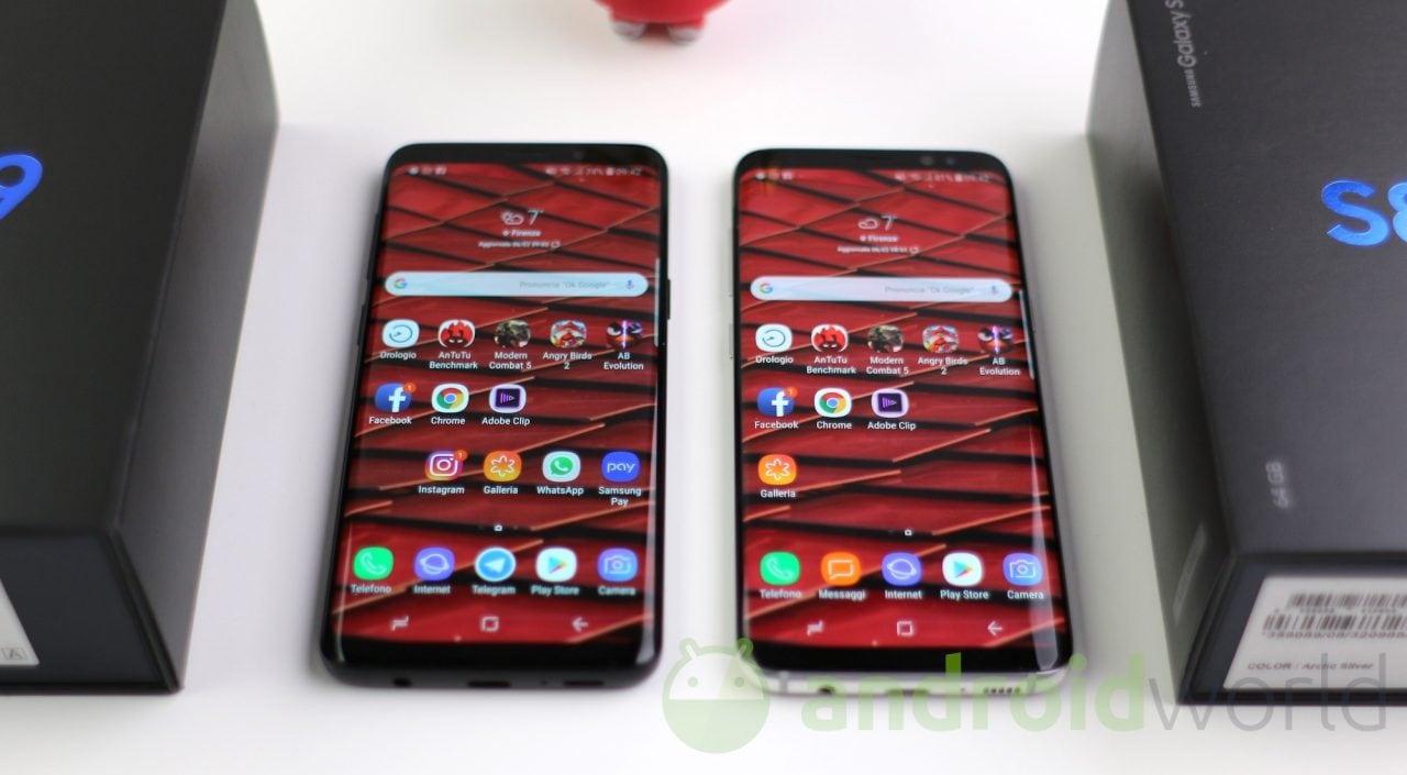 Anche Galaxy S8 e Note 8 ottengono gli sticker nel calendario (foto)