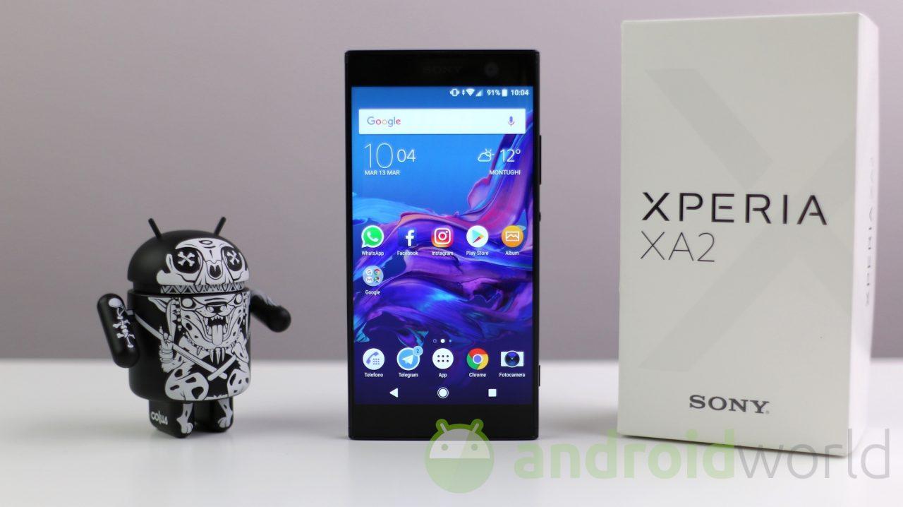 Sony rilascia nuovi aggiornamenti per Xperia XA2, XA2 Ultra e L2 (foto)