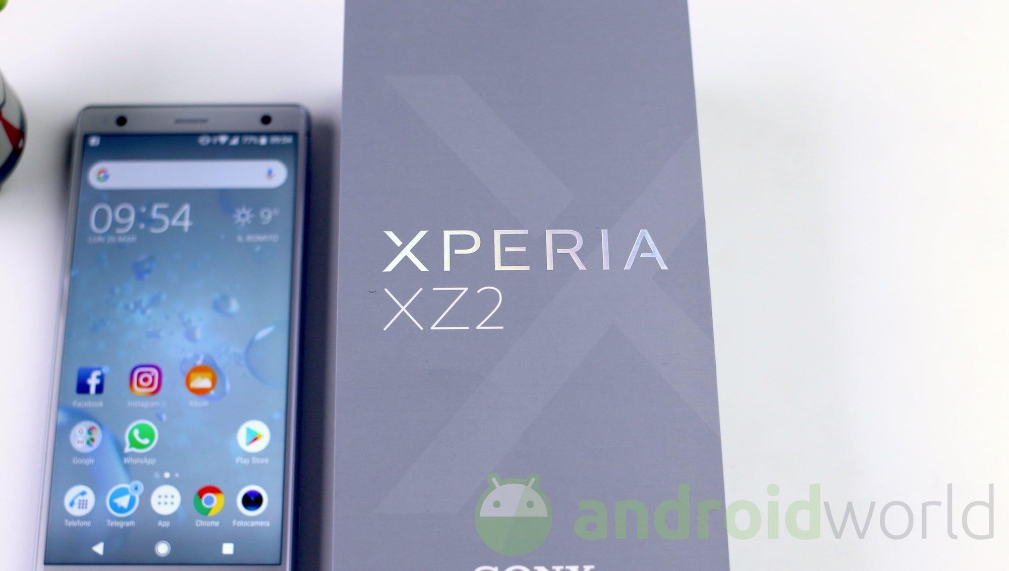 Sony Xperia XZ2 def – 1