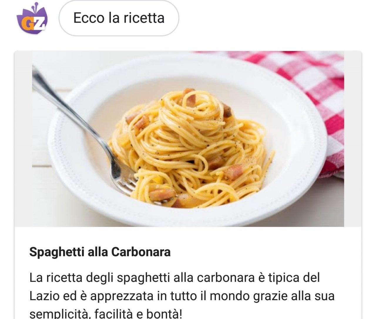 Google Assistant vi insegna a cucinare con Giallo Zafferano, e non solo! (foto)