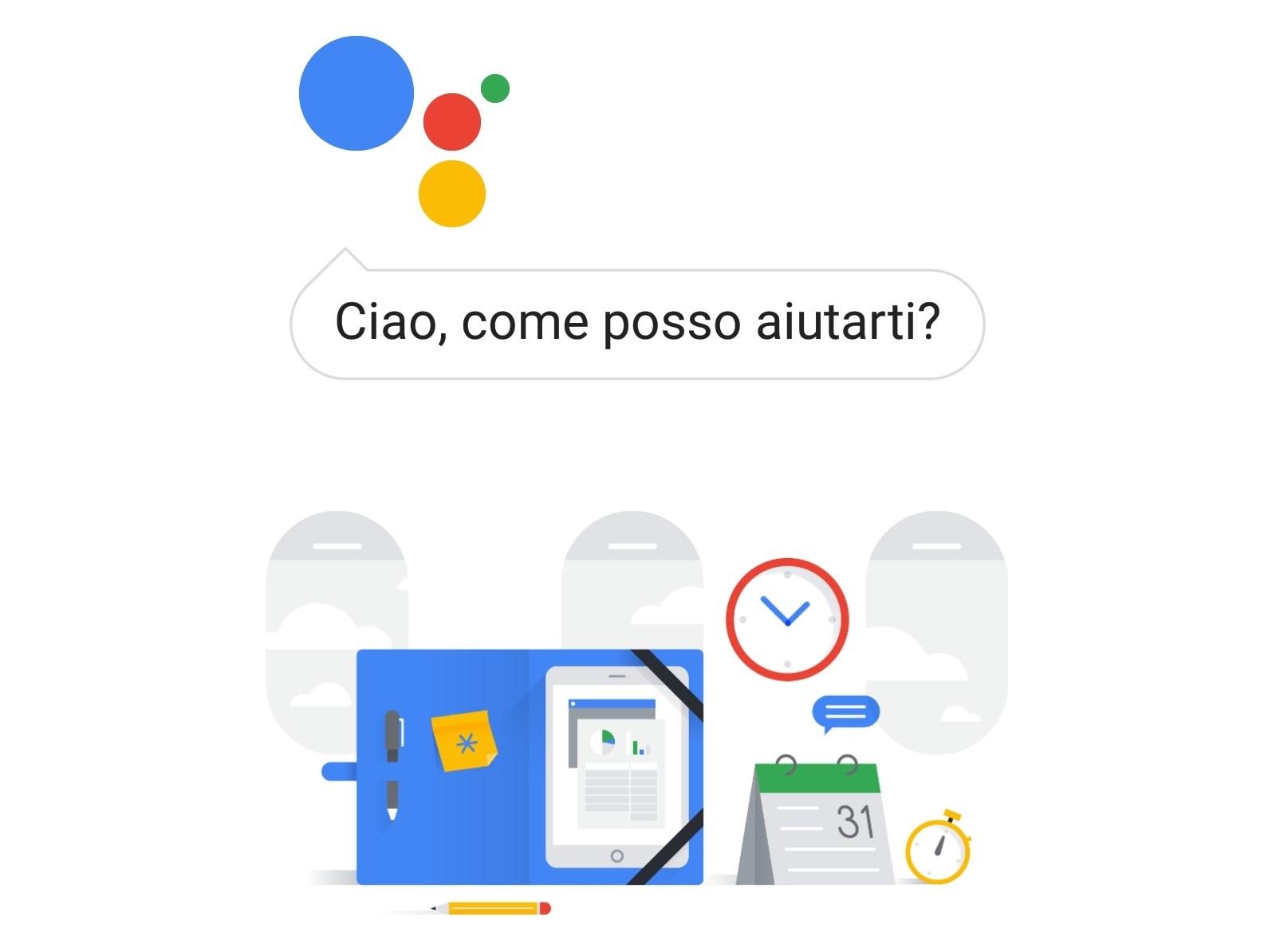 Avete google assistant in italiano sul vostro tablet android androidworld for Google assistant italia