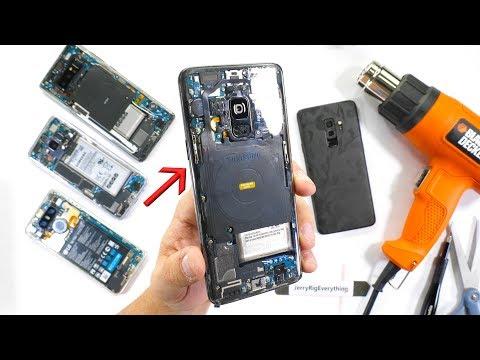 Altro che cover: il Galaxy S9 è bello con il retro trasparente! (video)