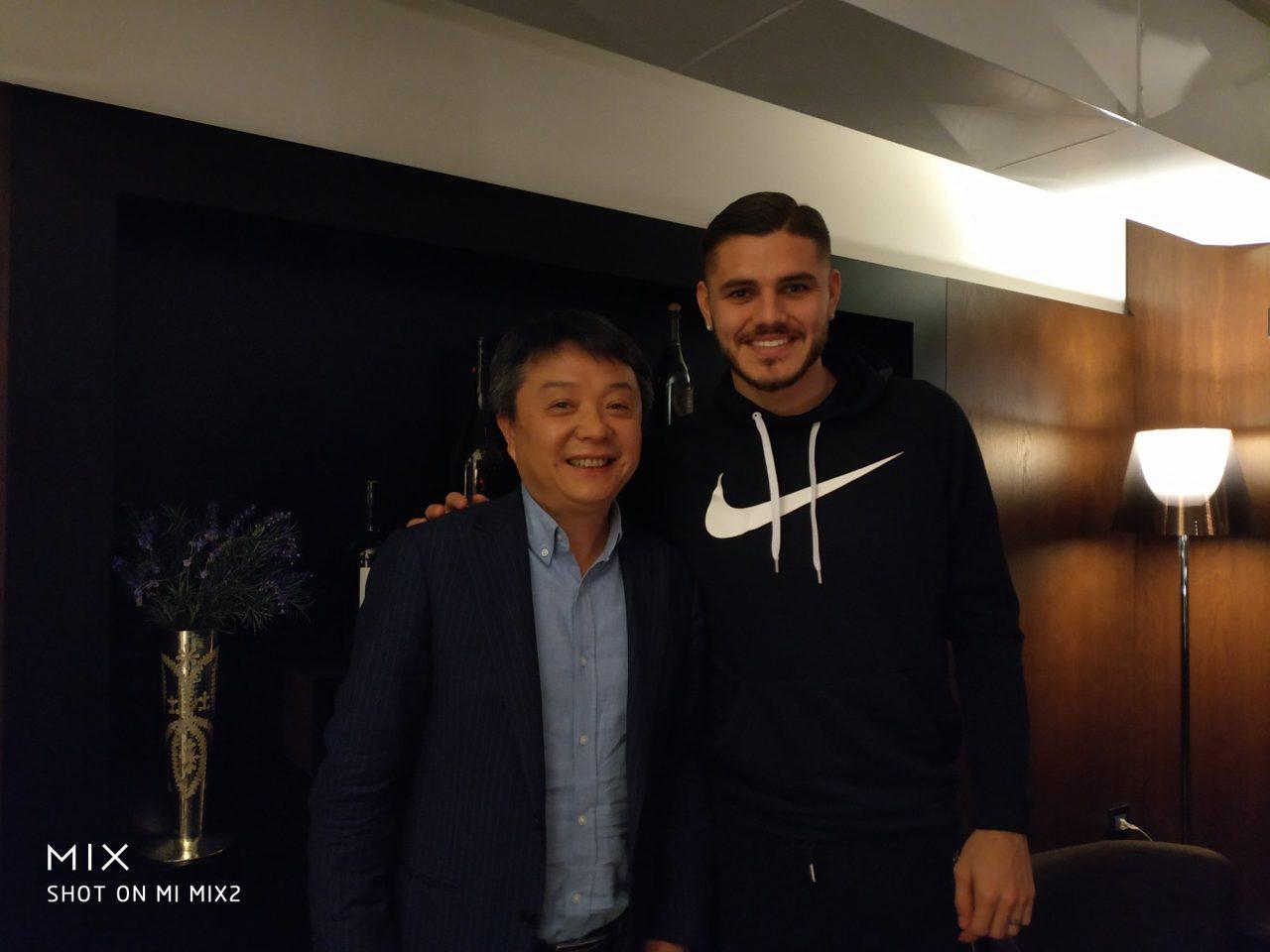 Xiaomi a cena con Mauro Icardi: primo indizio di una collaborazione con l'Inter?