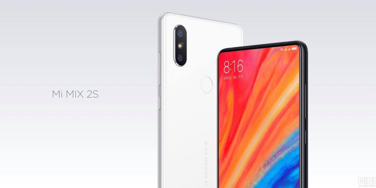Xiaomi Mi MIX 2S ufficiale: non il full screen dei sogni, ma secondo DxOMark le sue foto sono al pari di iPhone X (foto)
