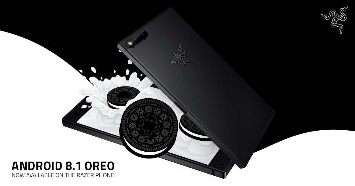 Razer addenta il biscotto e aggiorna Razer Phone a Android Oreo 8.1!