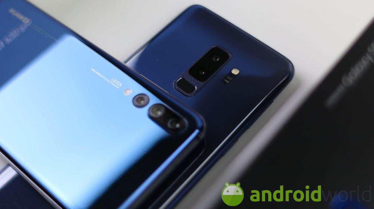Galaxy S10 s'ispira a Huawei P20 Pro: anche per lui ci sarà una tripla fotocamera?