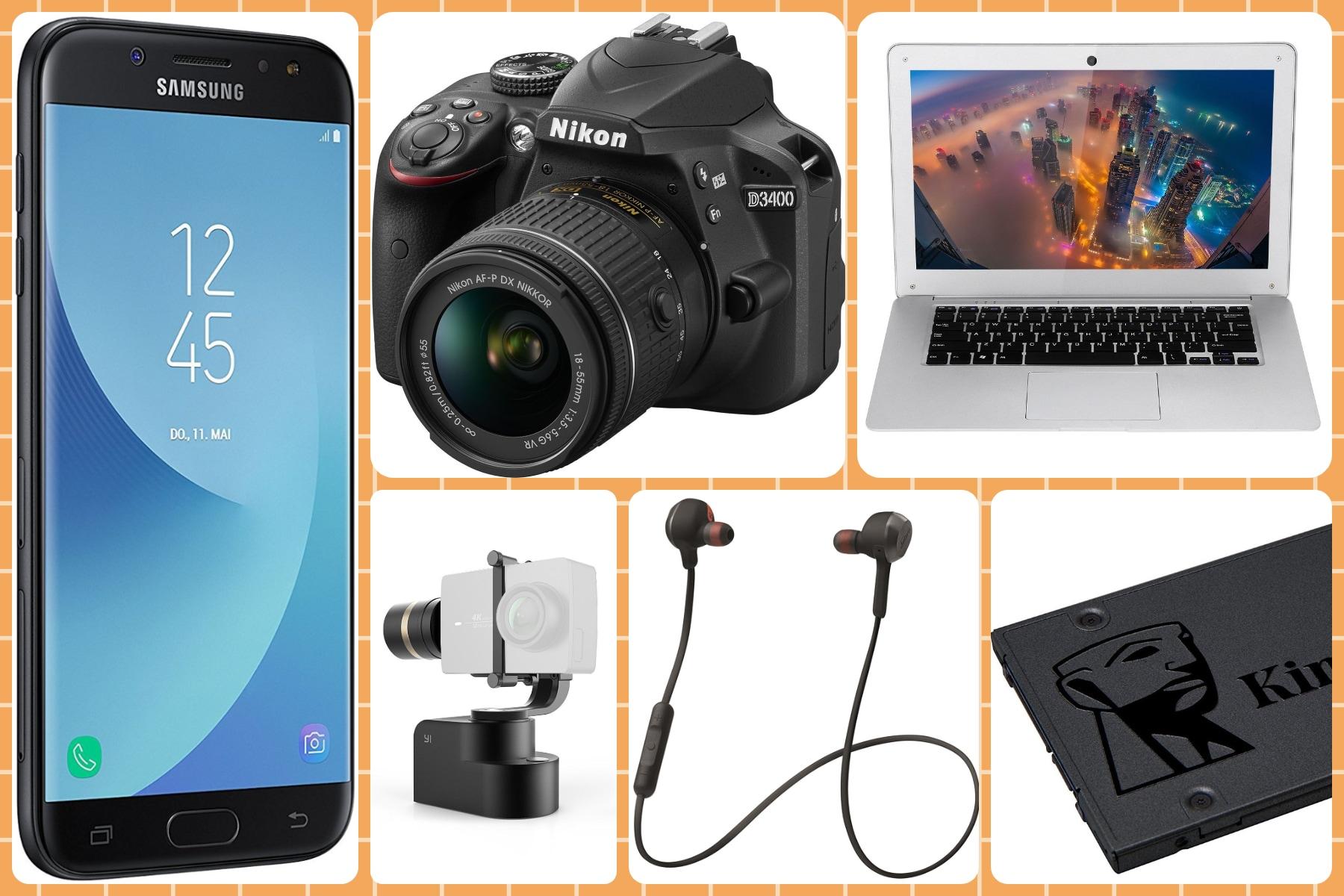 Offerte Amazon: notebook lowcost, reflex Nikon, SSD e smartphone ...