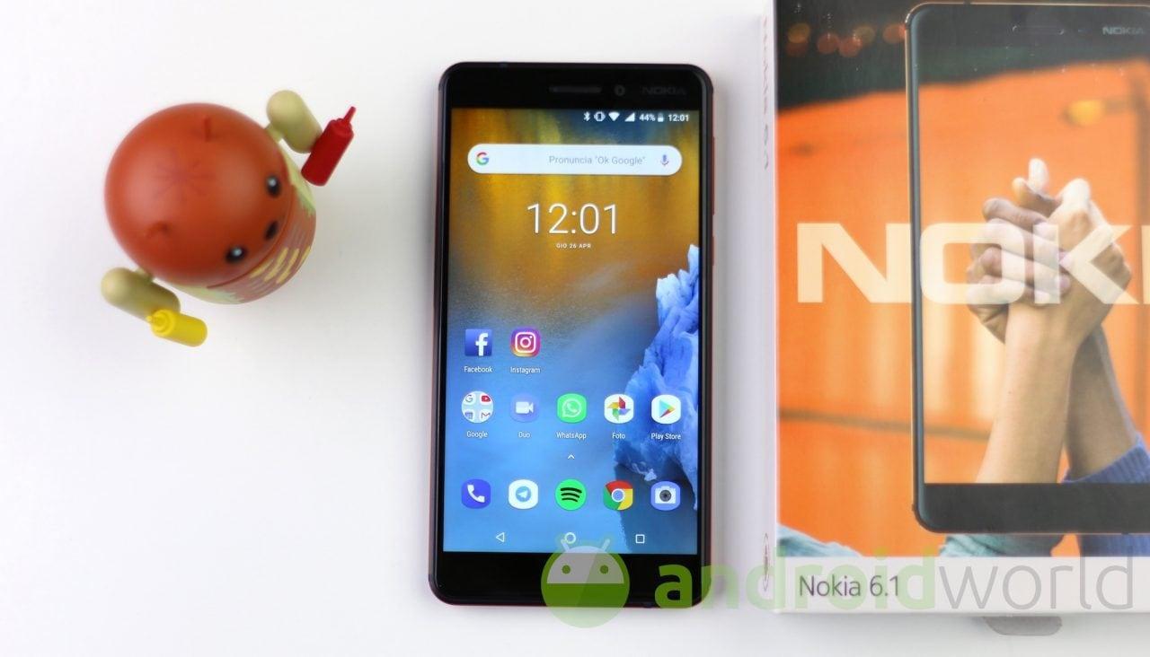 Nokia 6.1 non ha bisogno di beta tester: Android Pie stabile è in arrivo