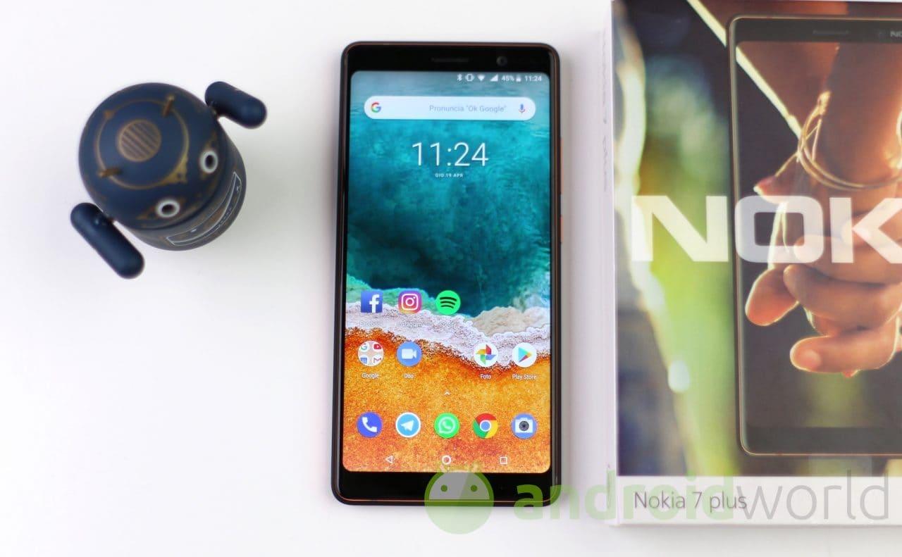Nokia 7 Plus: è arrivata la nuova versione beta di Android P