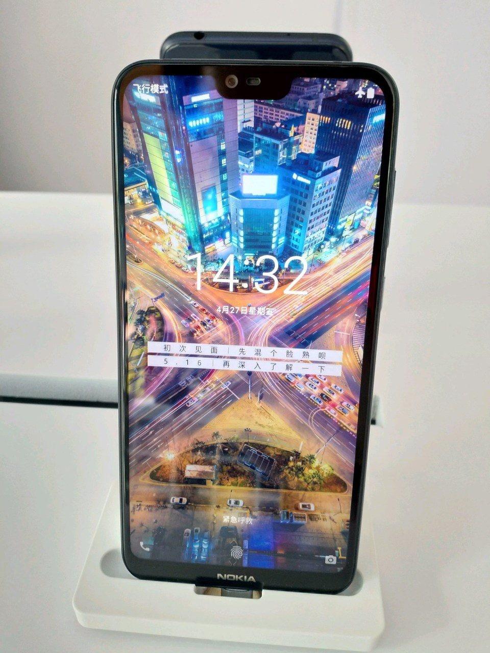 E niente, anche Nokia ha ceduto al notch: trapelate le prime immagini di X6 (foto)