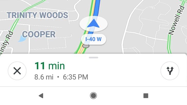 """Google Maps sta testando una UI più """"rotondeggiante"""" (foto)"""