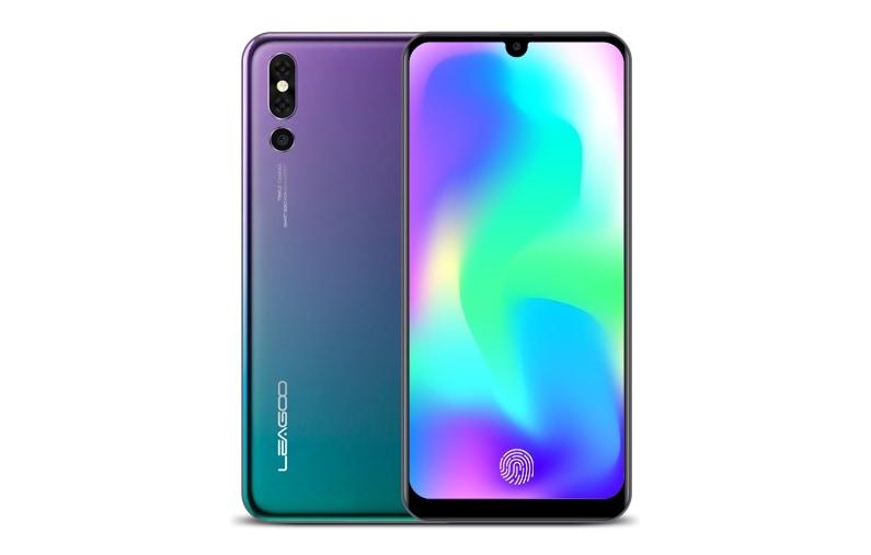 Huawei P20 Pro inizia a tremare: Leagoo S10 ha tripla fotocamera, colore twilight, lettore sotto al display e meno notch!