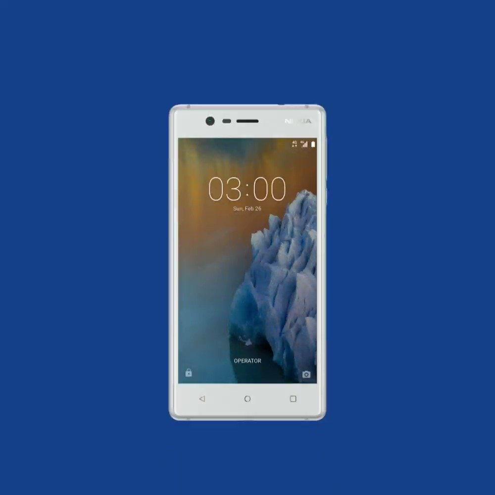 Android 8.0 Oreo è arrivato su Nokia 3!