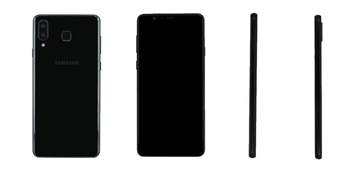 Questo non è Galaxy S9 Mini, ma una strana variante con dual-cam stile iPhone X (foto)