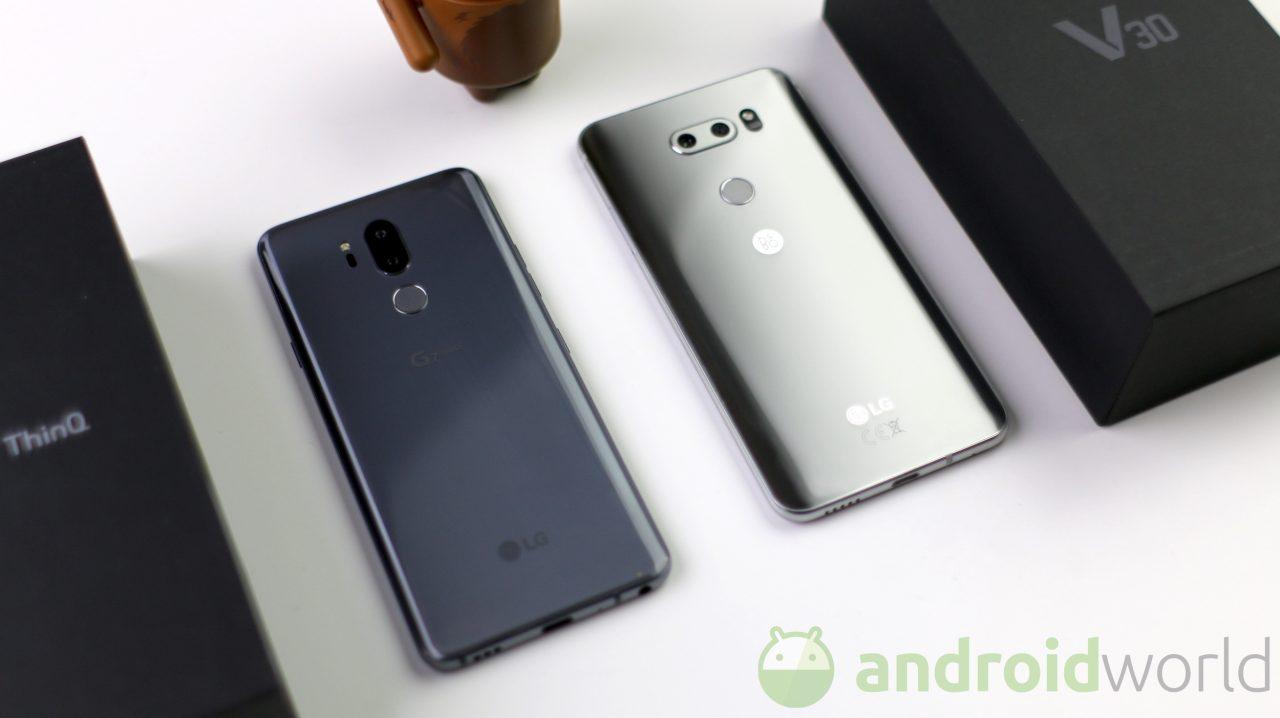 LG G7 ThinQ e V30 europei sono compatibili con il tool ufficiale per lo sblocco del bootloader