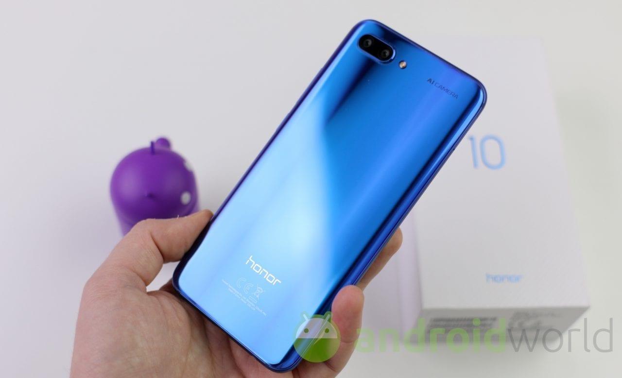 Honor 10: solo in Cina già venduti un milione di esemplari!