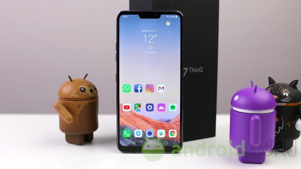 LG G7 ThinQ riceverà gli Adesivi AR di Google con il prossimo aggiornamento, anche in Italia?