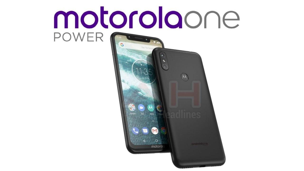 "Motorola One Power spunta a sorpresa: notch, chin, dual-cam, Android One ma senza logo ""Moto""?"