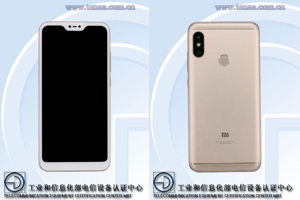 Xiaomi Redmi 6 passa dal TENAA: nuove immagini e possibili specifiche (foto)