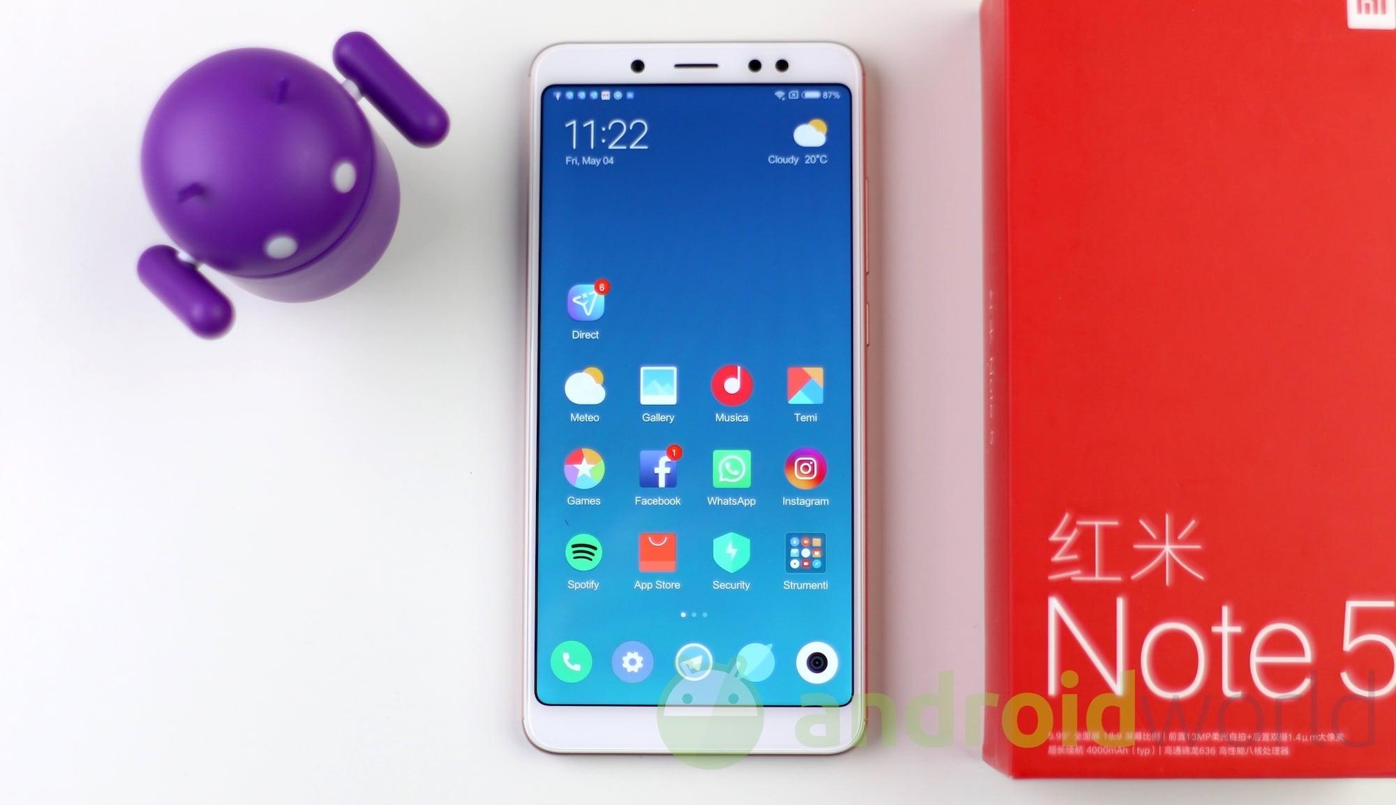 Xiaomi Redmi Note 5 def – 1