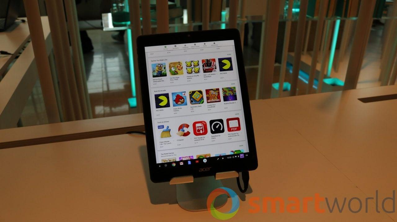 Il Chromebook Tab 10 è la cosa più vicina ad un tablet Android fatto da Acer (foto e video)