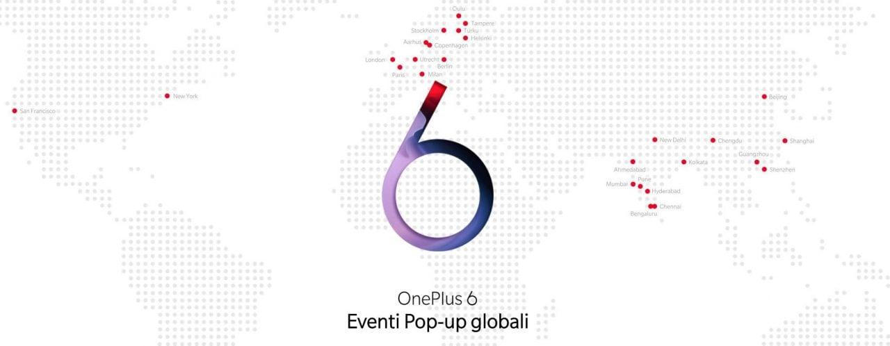 Volete essere tra i primi con OnePlus 6? Partecipate a uno dei tanti meetup organizzati nel mondo, scopriamo dove