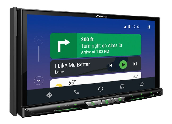 pioneer lancia due nuove autoradio con android auto e supporto wireless androidworld. Black Bedroom Furniture Sets. Home Design Ideas
