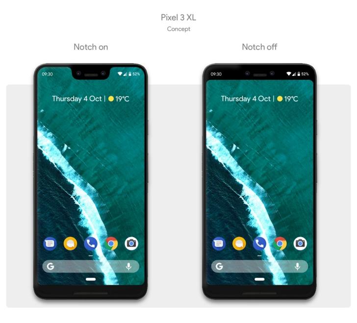 Il notch dei Pixel 3 sarà probabilmente a marchio LG