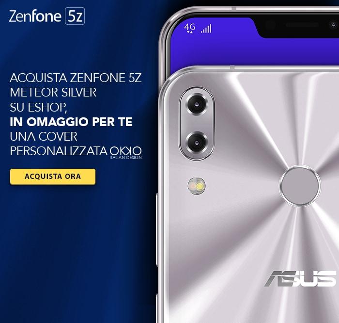 ASUS ZenFone 5Z: cover OKKO Design in regalo per i primi 200 acquirenti su ASUS eShop