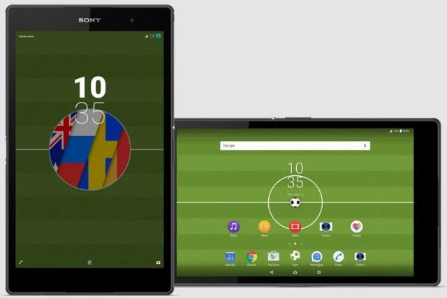 Se i Mondiali di calcio non vi rendono tristi, scaricate l'ultimo tema Xperia per i vostri Sony (foto)